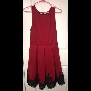 Size S Red Francesca's Dress